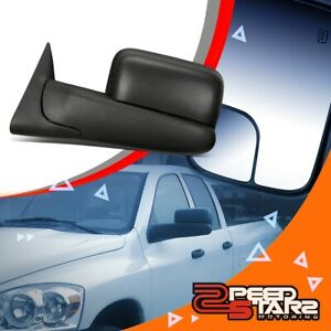 Left Side Powered Adjustment Towing camper Mirror W heated For 94 97 Dodge Ram