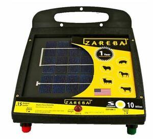 Zareba Esp10m z 10 Mile Solar Low Impedance Fence Charger 10 Mile
