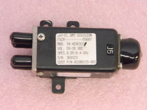 New Sma Rf Coaxial Switch Sp3t 50mhz 8 4ghz Jay el T4 429e919