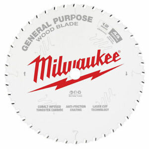 Milwaukee 48 40 1220 12 In 44t General Purpose Circular Saw Blade New