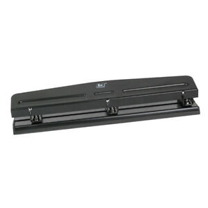 Heavy Duty 3 hole Punch For Book Binder Punch Handcraft Punch Tool black