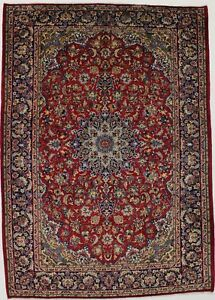 8x11 Traditional Vintage Najafabad Persian Rug Oriental Area Carpet Sale 8x12