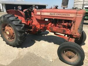1967 Allis Chalmers Series Iv D17 Tractor S 88351 For Parts Or Restore