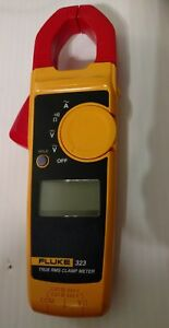 Fluke 323 True Rms Digital Clamp Meter Multimeter used