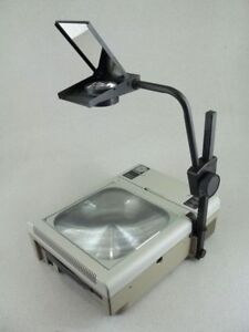 Dukane 653 Overhead Transparency Projector Portable collapsible Free Shipping