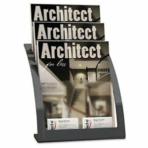Deflect o Contemporary Literature Holder 13 3 Height X 11 2 Widt