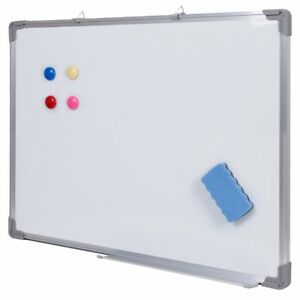 Magnetic Dry Wipe White Board Eraser Memo Teaching Board Office School Dry Erase