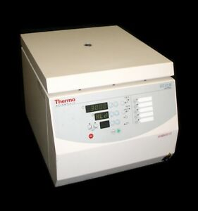 Thermo Iec Cl30 Multipurpose Bench top Centrifuge W ac 15 4 30 Slot Angled Rotor