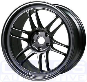 Enkei Rpf1 Wheel 18x8 5 40mm 5x108 Single Gunmetal Rim For Focus St