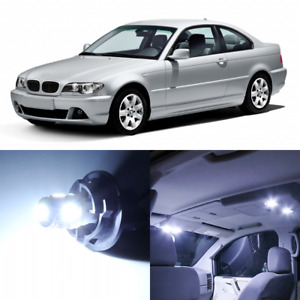 16 X Canbus White Interior Led Lights Package For 1999 2005 Bmw 3 Series M3 E46