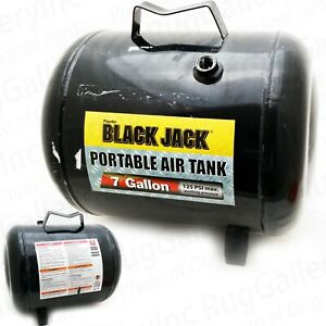 Torin Black Jack Portable 7 Gallon Air Tank For Inflator Compressor T88007w