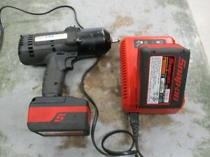 Snap on Ct8850bk 1 2 Drive Cordless Lithium Impact Wrench W 2 battery Charger