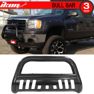 Fits 07 13 Avalanche 1500 07 15 Gmc Yukon New Body Front Bumper Grille Guard