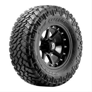 Pair 2 Nitto Trail Grappler M t Tires 285 65 18 Radial Blackwall 205740