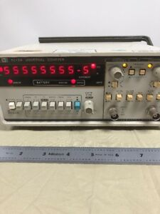 Hp Agilent 5315a Universal Frequency Counter 100mhz Stand Broke