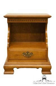 Ethan Allen Classic Manor 22 Nightstand W Nutmeg Maple Finish 10 5208