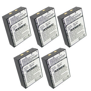 5x Two way Radio Battery Ebfrs bk71216 Replaces Bk 71216 Fast Usa Ship