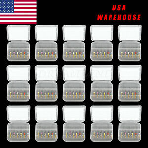 15pack Dental Rotary Universal Engine Root Canal Niti Files 25mm 6size Usasalekl