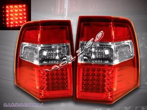 07 11 Ford Expedition Led Tail Lights Red Brake Lamps Assembly Lh rh