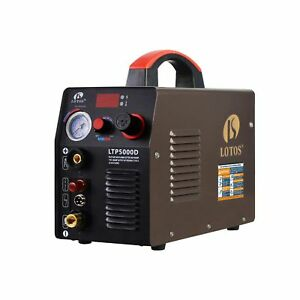 Lotos Compact Plasma Cutter Dual Voltage Non Touch Pilot Arc 110 220v Brown New