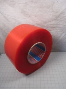 Tesa 9mm X 4000m Red Double Sided Bonding Adhesive Tape Roll 51970 00028 06 New