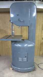 Yates American J line 20 Inch Wood Cutting Band Saw J 120 1 Phase