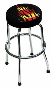 Atd Tools Atd 81056 Shop Stool With Flame Design
