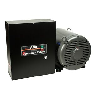Extreme Duty Rotary Phase Converter Adx75 75 Hp Digital Smart Series Usa Made