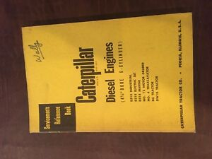 Cat Caterpillar Diesel Engine Servicemen s Reference Book Manual 6 Cyl 4 1 2