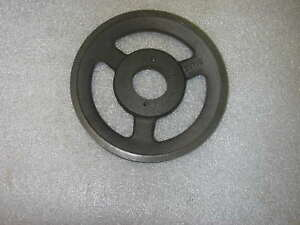 V Belt Pulley Single Groove 6 3 4 Od H Style Bushing 5 8 Wide