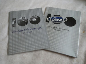2003 Ford Motor Company 100 Years Anniversary Press Kit Brochure W Mustang More