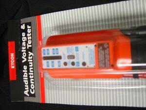 Vt154 Audible Voltage Continuity Tester solenoid Type