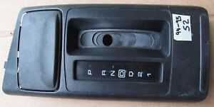93 96 Camaro Z28 Console Overdrive Auto Shifter Plate With Ashtray S2