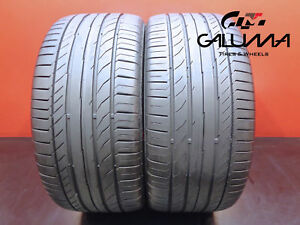 2 Continental 255 40 18 Contisportcontact 5 95y Runflat Tires Technology 46093