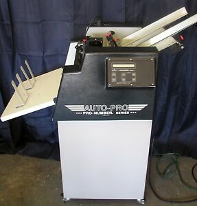 Count Auto Pro Ap 1 Numbering Machine 1 Head