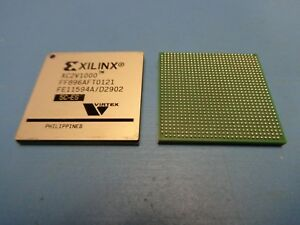 2 Xilinx Virtex Xc2v1000 5ff896c Es 896 Pin Bga Fpga 1m Gates New Usa Seller