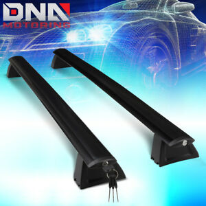 For 2011 2018 Jeep Grand Cherokee Oe Aluminum Roof Rack Rail Cross Bar W lock