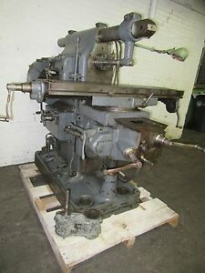 Cincinnati 2 Universal Horizontal Milling Machine Loaded