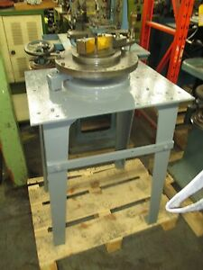 Irwin Diacro Type Hand Operated Radius Bender Equipped With Metal Stand