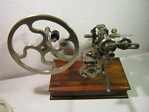 Antique Topping Tool Gear Wheel Cutting Machine Jeweler s Lathe Circa 1860