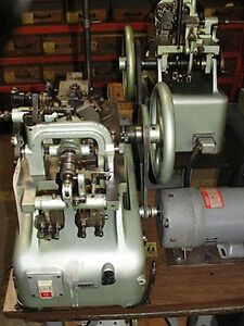 Ombi Medium Double Curb Chain Making Machine Excellent Condition