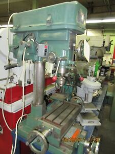 Jet Model 15 Bench Model Milling drilling Machine