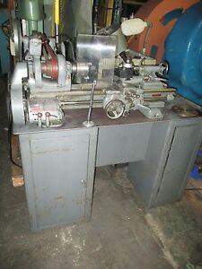 South Bend 9 X 16 Precision Belt Driven Lathe With 3 jaw Chuck