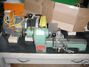 Derbyshire Model A Precision Bench Model Lathe watchmakers Jewelers