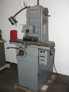 Brown Sharpe Micromaster 6 X 12 Hand Operated Surface Grinder