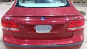 2003 2007 Saab 93 9 3 Trunk Decklid Assembly With Aero Spoiler