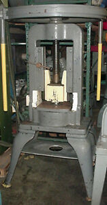 Waterbury Farrel Arch Frame Hand Operated Screw Press