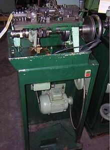 Fico Type Curb Style Cable Chain Making Machine With Factory Stand