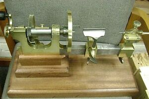 Antique Bench Model Watchmaker s Jeweler s Lathe Circa 1860