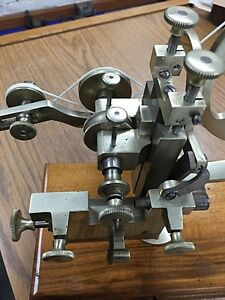 Antique Watchmaker s Jeweler s Rounding Up Tool Gear Wheel Cutter Lathe Tool
